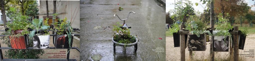Dadagreen et garden tricycle, Paule Kingleur / Paris Label
