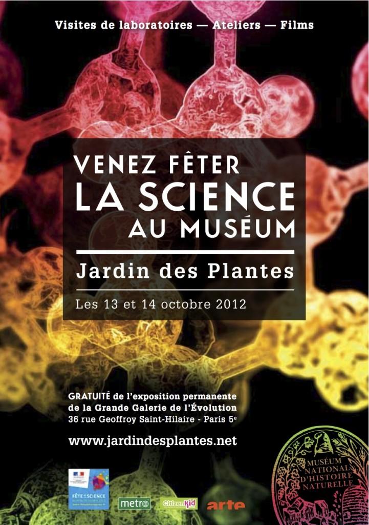 Fête de la Science 2012 au Muséum