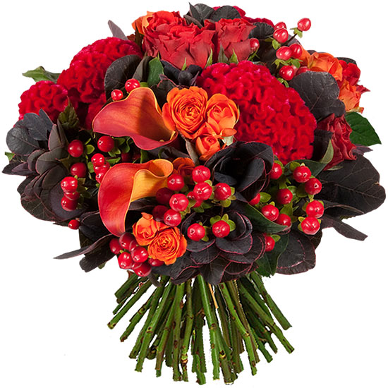 Un bouquet très automnal