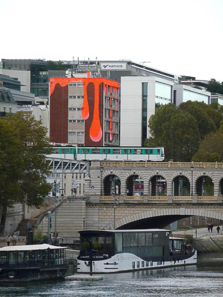 Immeuble sur le quai d'Austerlitz, Paris 13e (75)