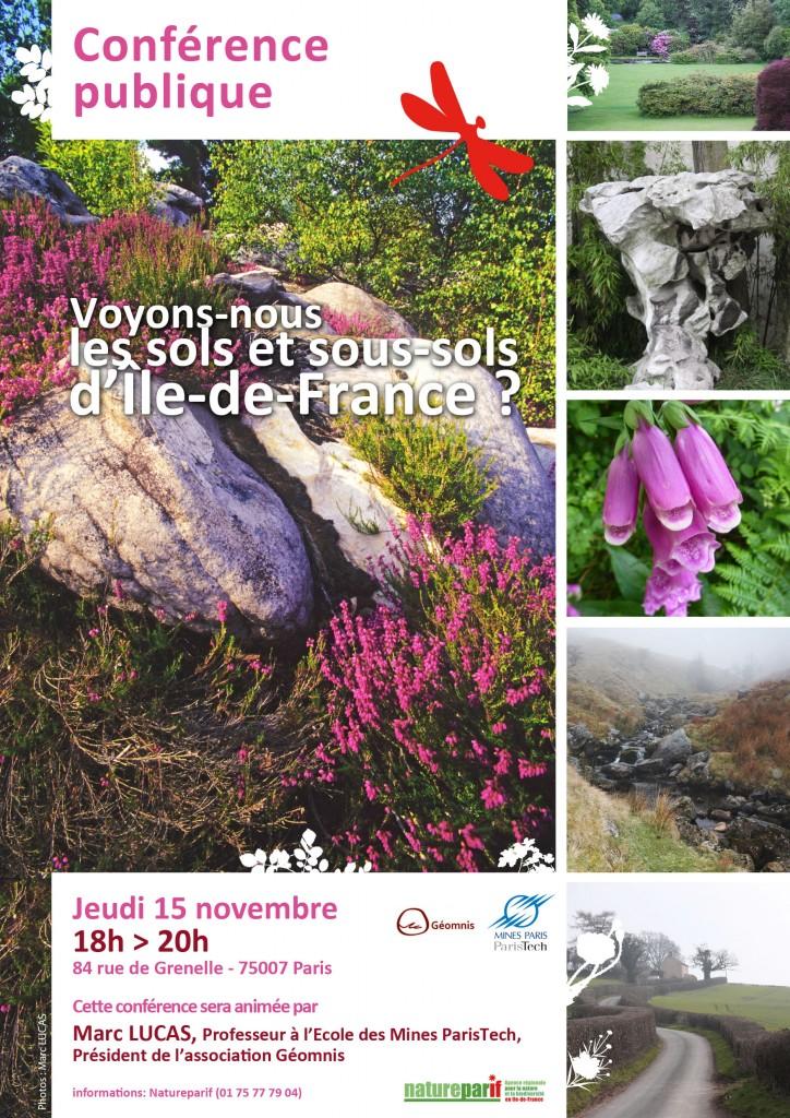 Conférence publique : Voyons-nous les sols et sous-sols d'Île-de-France ?