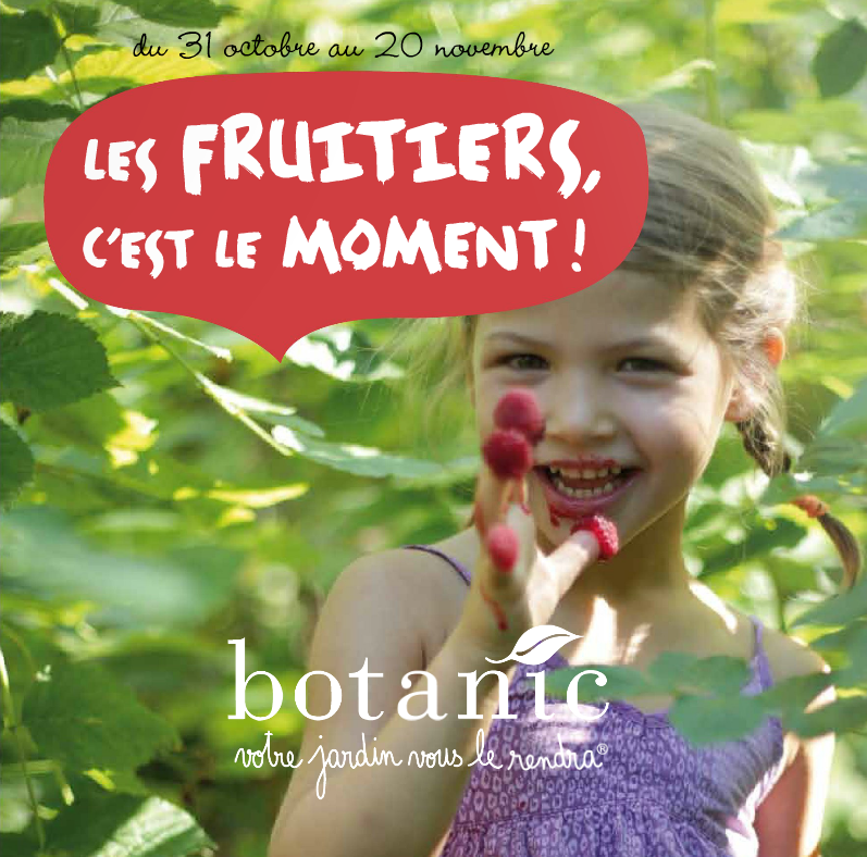 Les fruitiers, c'est le moment ! botanic
