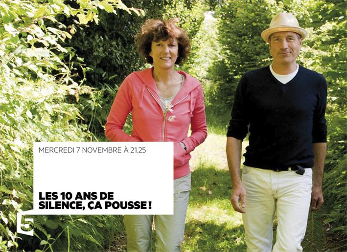 Émission spéciale pour les 10 ans de Silence ça pousse ! France 5
