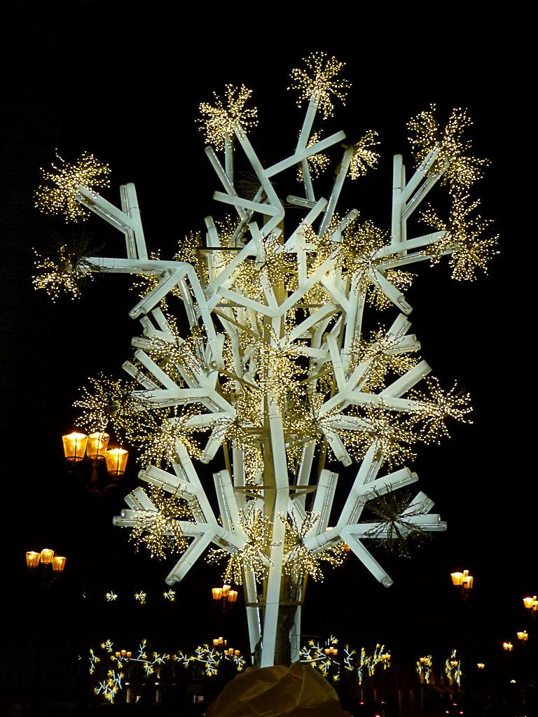 Illuminations sur la place Vendôme, Paris 8e (75)