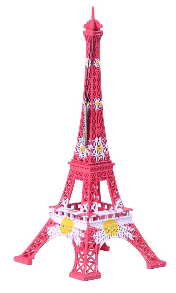 Tour Eiffel Crazy Flower, collection L'Originale / Design MerciGustave by Nathalie Leret & Yves Castelain