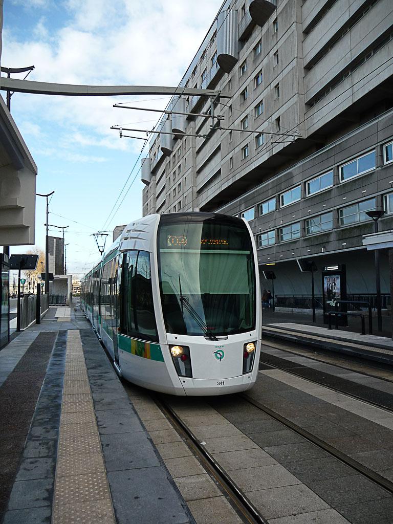 Station du tramway Porte de la Villette - Cité des Sciences et de l'Industrie