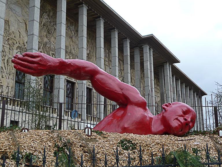 Dans le bonheur, Diadji Diop, Palais de la Porte Dorée, avenue Daumesnil, Paris 12e (75)