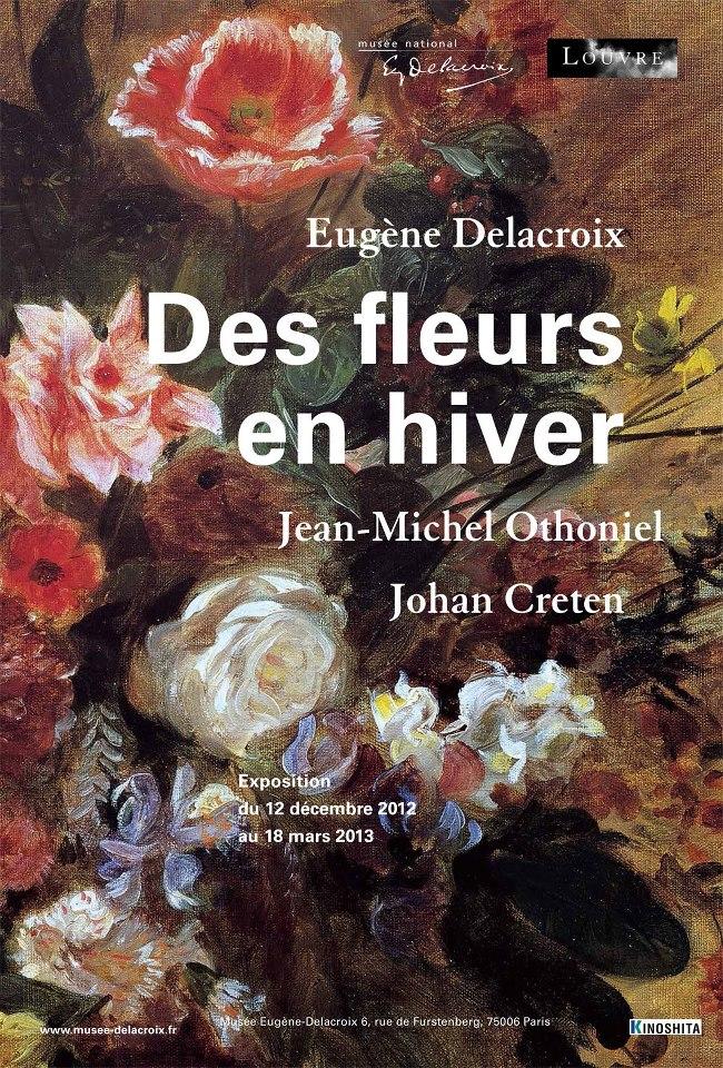 Exposition temporaire Des fleurs en hiver / Musée national Eugène Delacroix