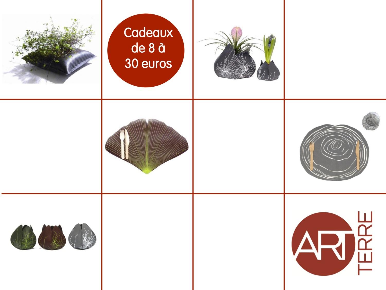 Boutique itinérante Art Terre, cadeaux de 8 à 30 euros