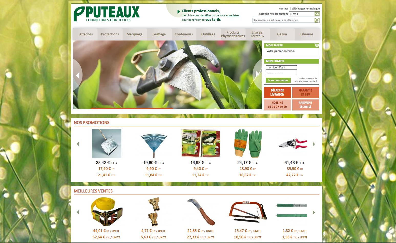 La société Puteaux lance son site de vente en ligne