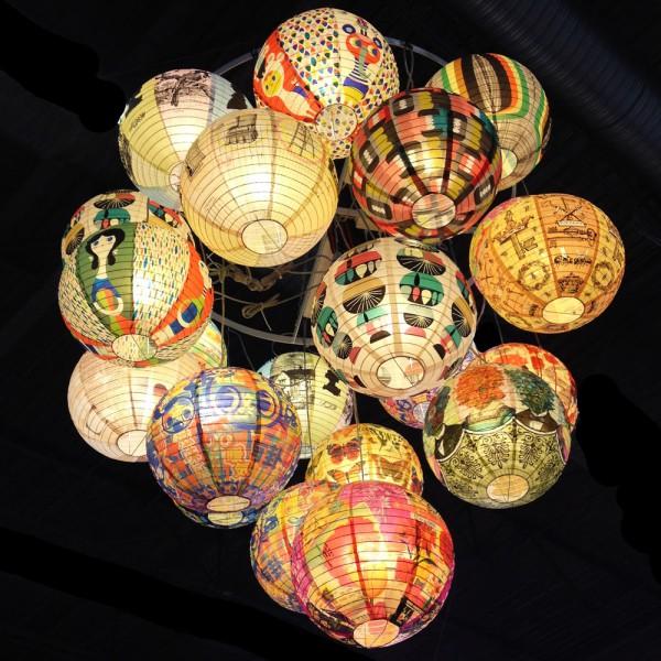 Lanternes en papier ou boules japonaises, Pep Up Design