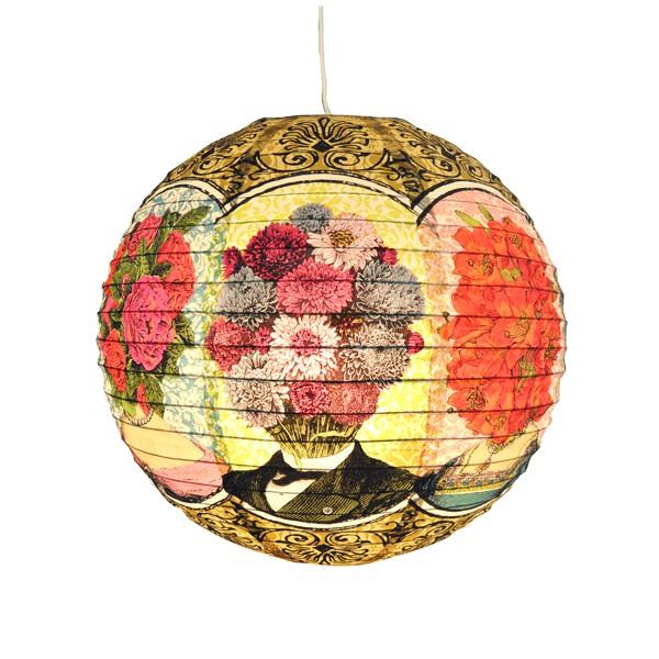 Lanterne en papier ou boule japonaise, Flowerhead, Pep Up Design
