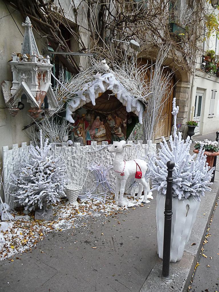 Auberge Au Vieux Paris, rue Chanoinesse, Paris 4e (75)