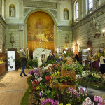 Salon international « Orchidées au pays des Incas », FFAO, 20 janvier 2013, Fondation Eugène Napoléon, Paris 12e (75), photo Alain Delavie
