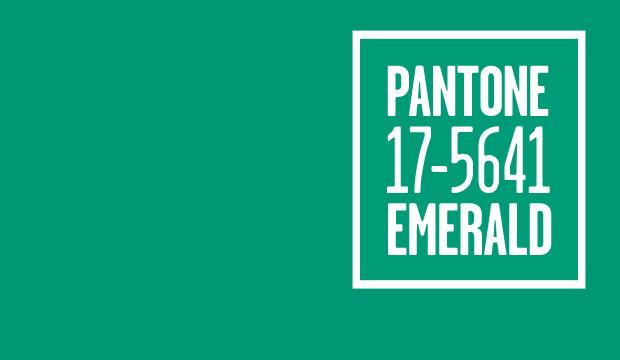 Vert émeraude Pantone 17-5641