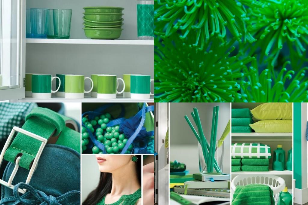 Vert émeraude, couleur de l'année 2013