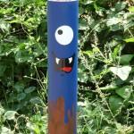 Potelet, Le Cyklop + MacAdam VHC, Street art, Festival In Situ, Fort d'Aubervilliers, Auvervilliers (93)