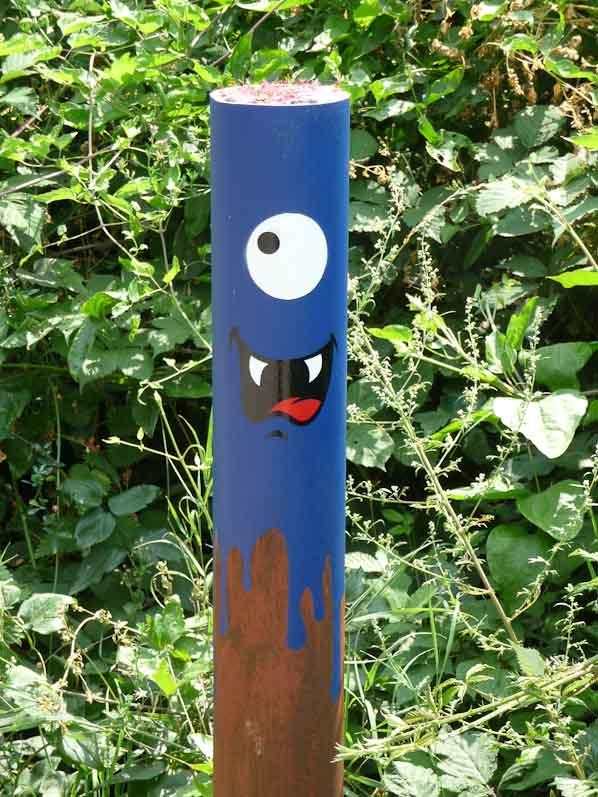 Potelet, Le Cyklop + MacAdam VHC, Street art, Festival In Situ, Fort d'Aubervilliers, Auvervilliers (93), 27 juillet 2014, photo Alain Delavie