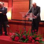 Henri Delbard, Président de la SNHF, et le Président Valéry Giscard d'Estaing