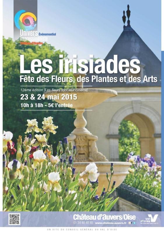 Affiche Les Irisiades 2015
