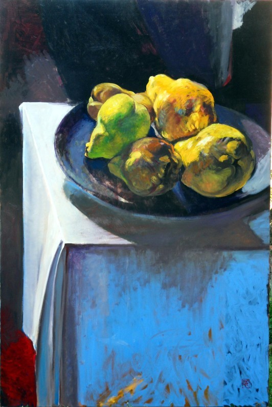 Nature morte, coings, Jacques Canonici