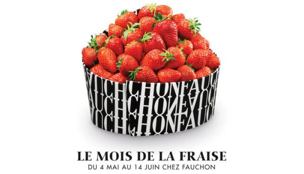 Le mois de la fraise chez Fauchon, mai-juin 2015