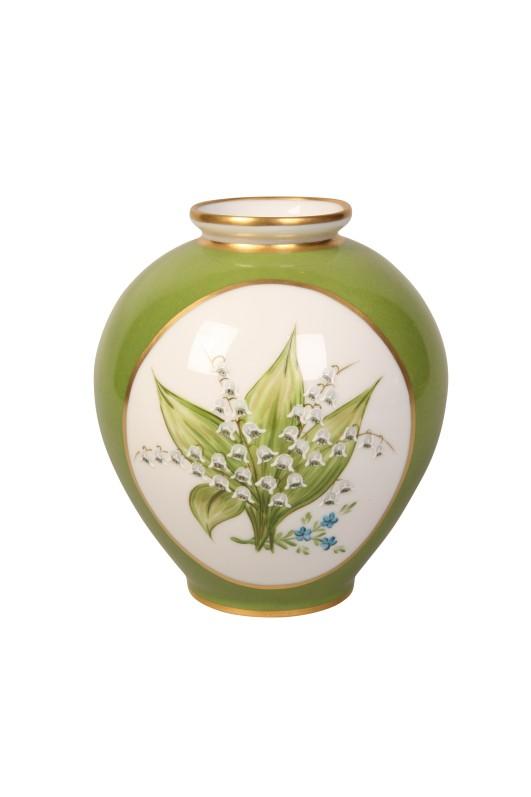 Vase en porcelaine Muguet, Maison Laure Sélignac