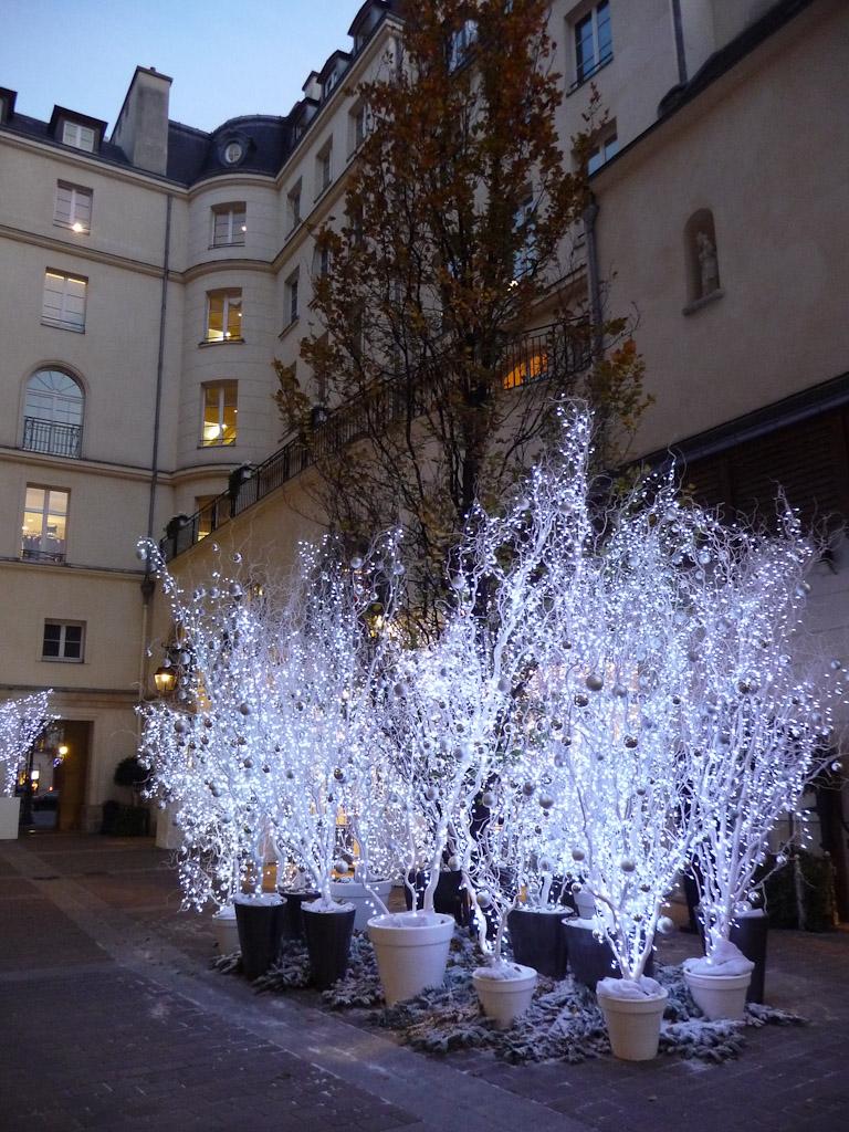 Illuminations du Village Royal pour les fêtes de fin d'année