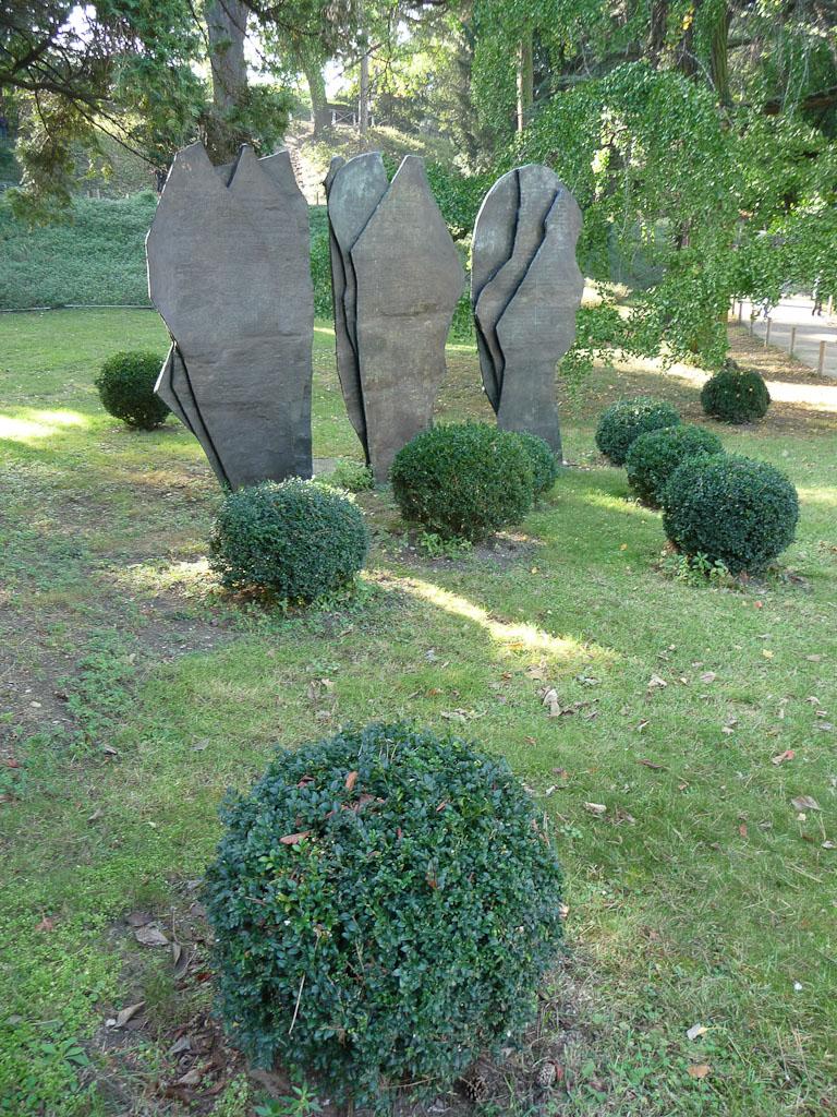 Hommage à Saint-John Perse par Patrice Alexandre dans le Jardin des Plantes de Paris