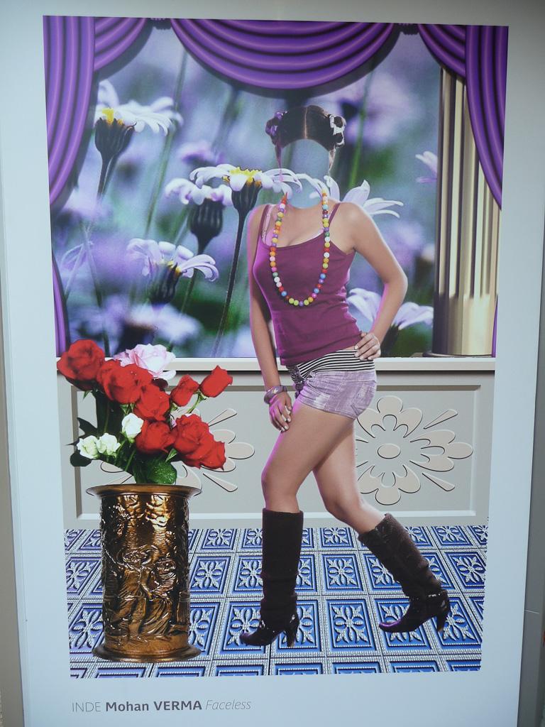 Faceless, Mohan Verma, Exposition Photoquai, Paris 7e (75)