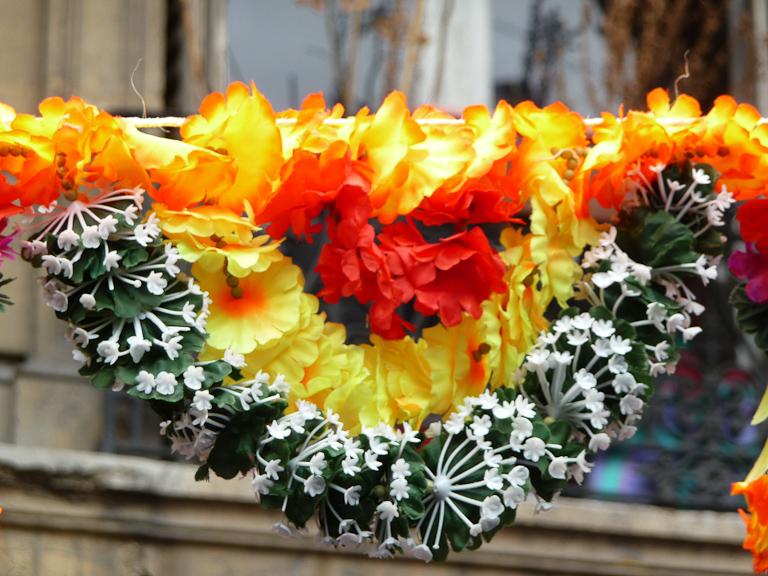 Défilé de la fête du Dieu Ganesh, Paris 18e (75)