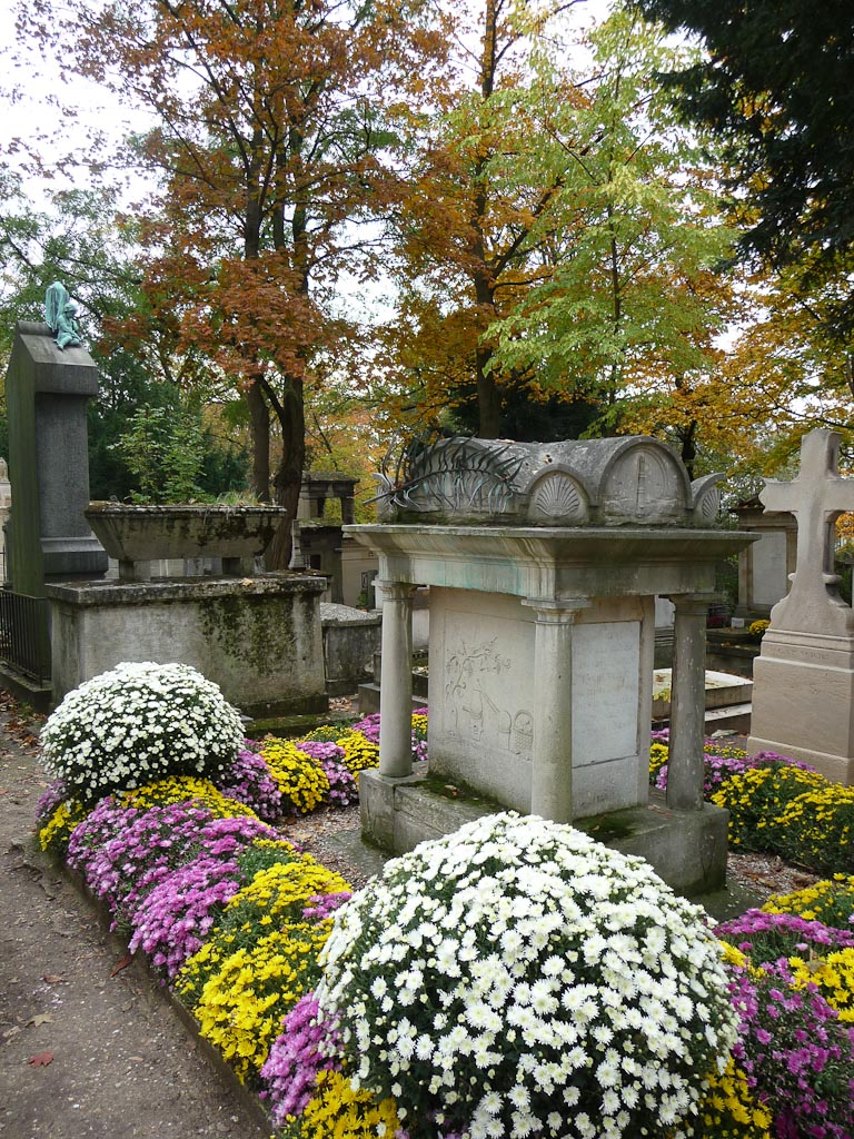 Tombe de Parmentier dans le cimetière du Père Lachaise, Paris 20e (75)