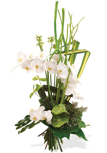 Bouquet Céleste, création Interflora