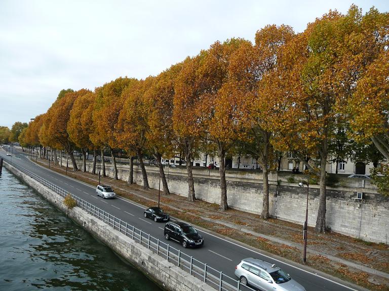 Voies sur berge (Voie Georges Pompidou), Paris 16e (75)