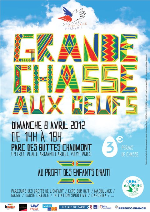 Grande chasse aux oeufs solidaire