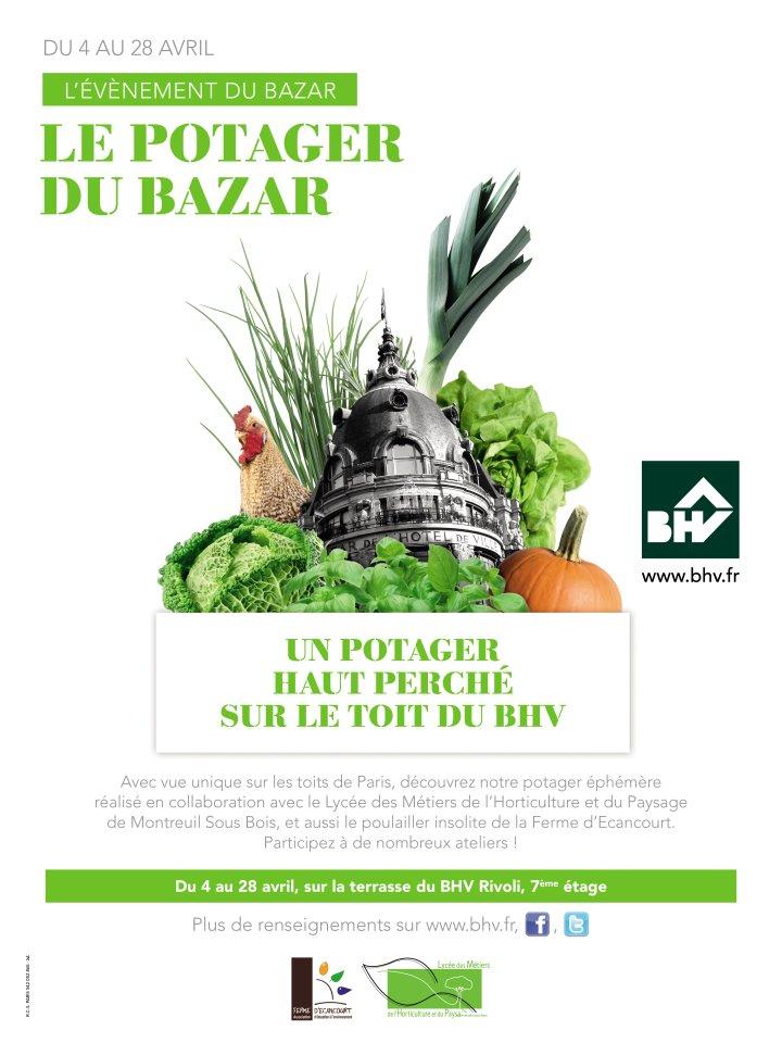 Le potager du Bazar
