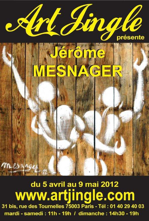 Exposition de Jérôme Mesnager à Art Jingle du 5 avril au 9 mai 2012