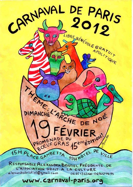 Carnaval 2012 de Paris
