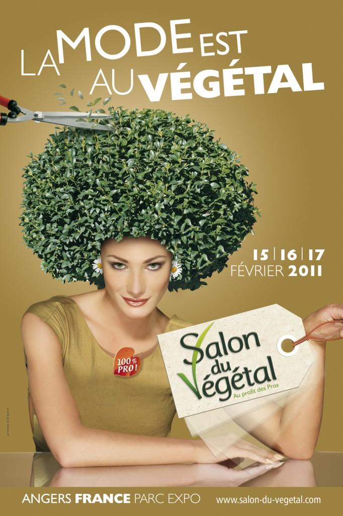 Affiche du Salon du Végétal 2011