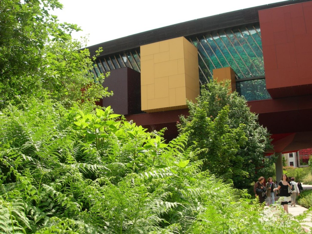 Jardin du Musée du Quai Branly, Paris 7e (75)