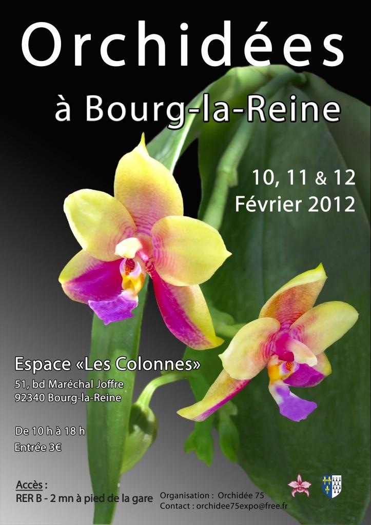 Exposition Orchidées à Bourg-la-Reine (92)