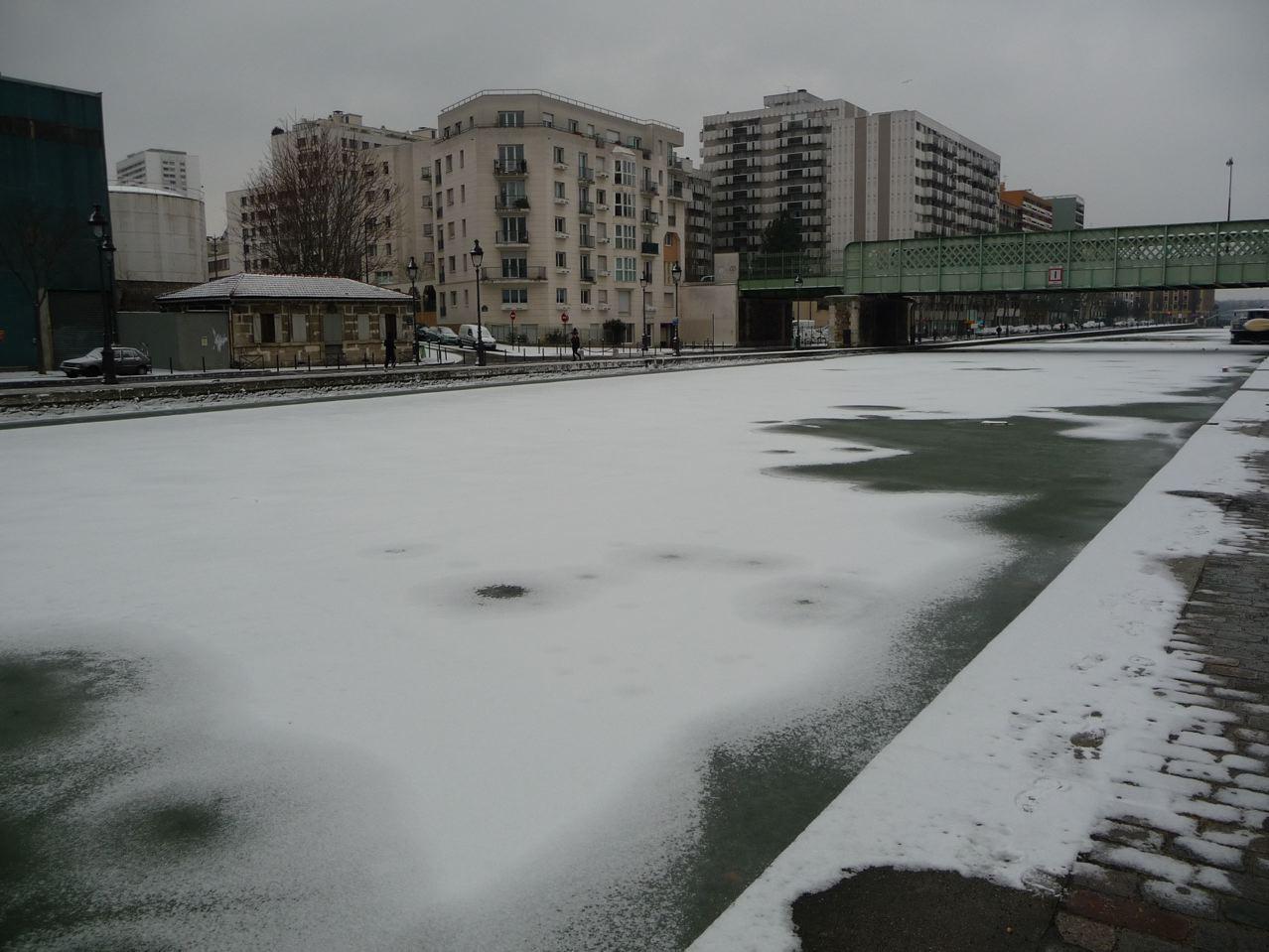 Vague de froid sibérien sur Paris