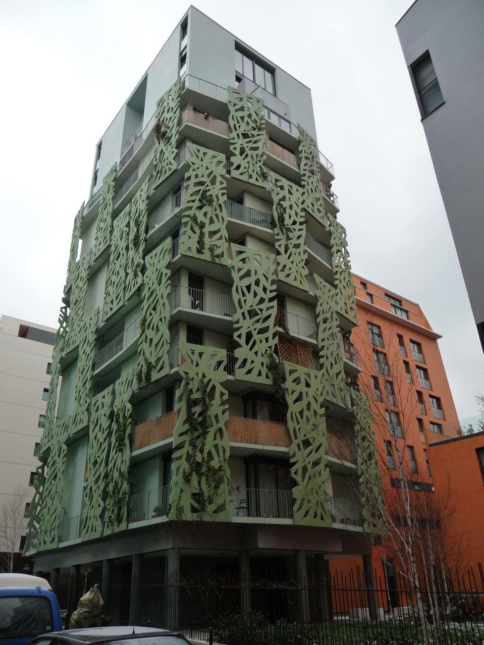 Le végétal à l'assaut des murs