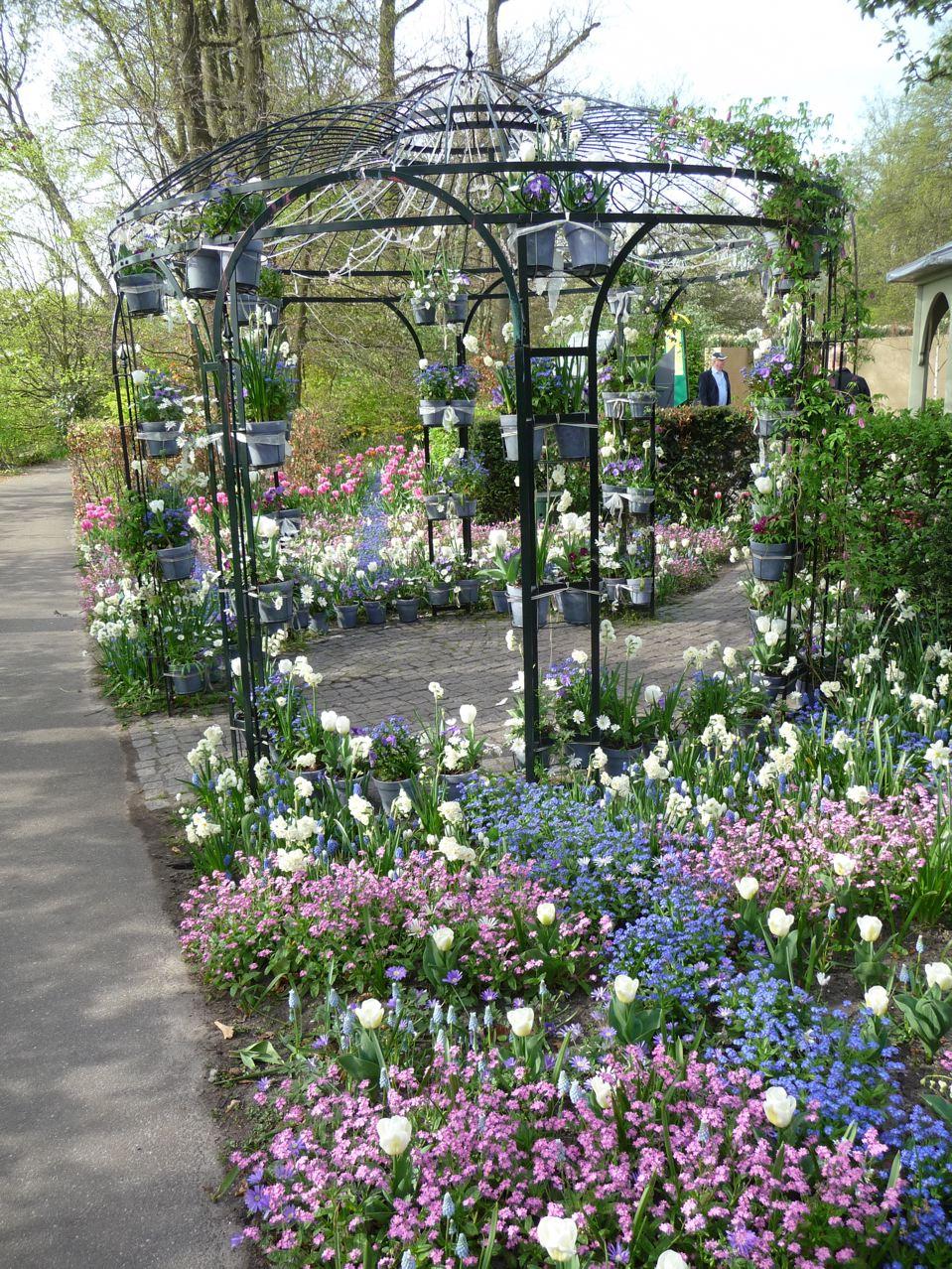 Les jardins d'inspiration du parc de Keukenhof en Hollande