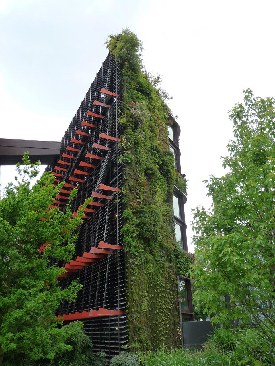 Jardin suspendu dans Paris