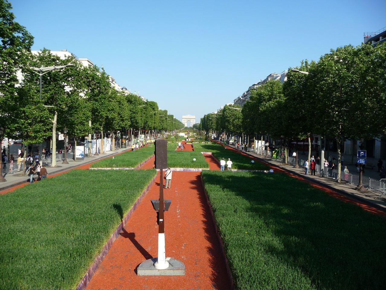 Nature Capitale sur les Champs-Élysées (Paris 8e, 75)