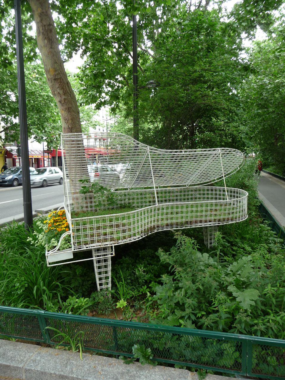 Piano jardin ou piano jardinière