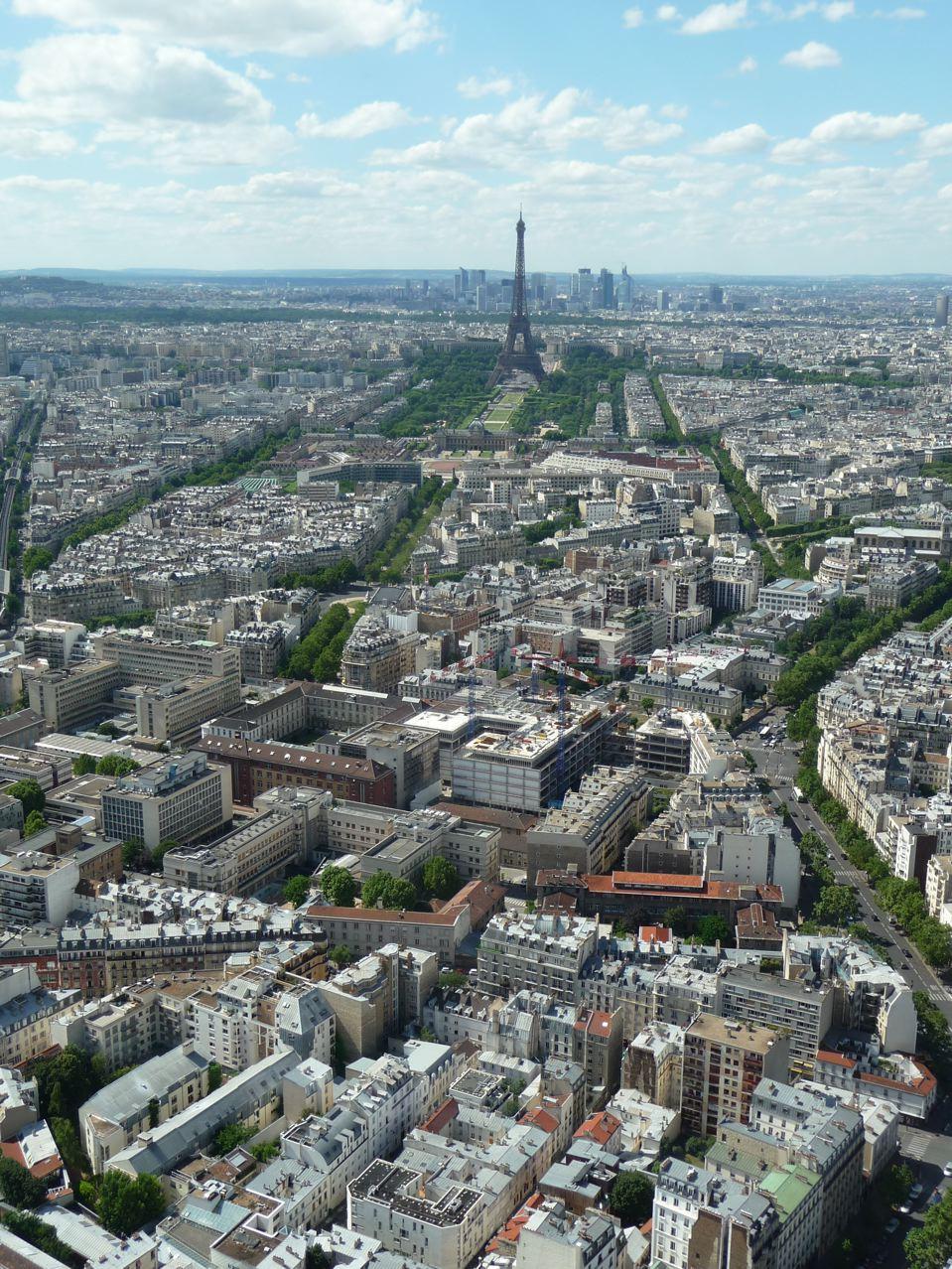 Découverte de Paris depuis l'observatoire de la Tour Montparnasse (Paris 14e)
