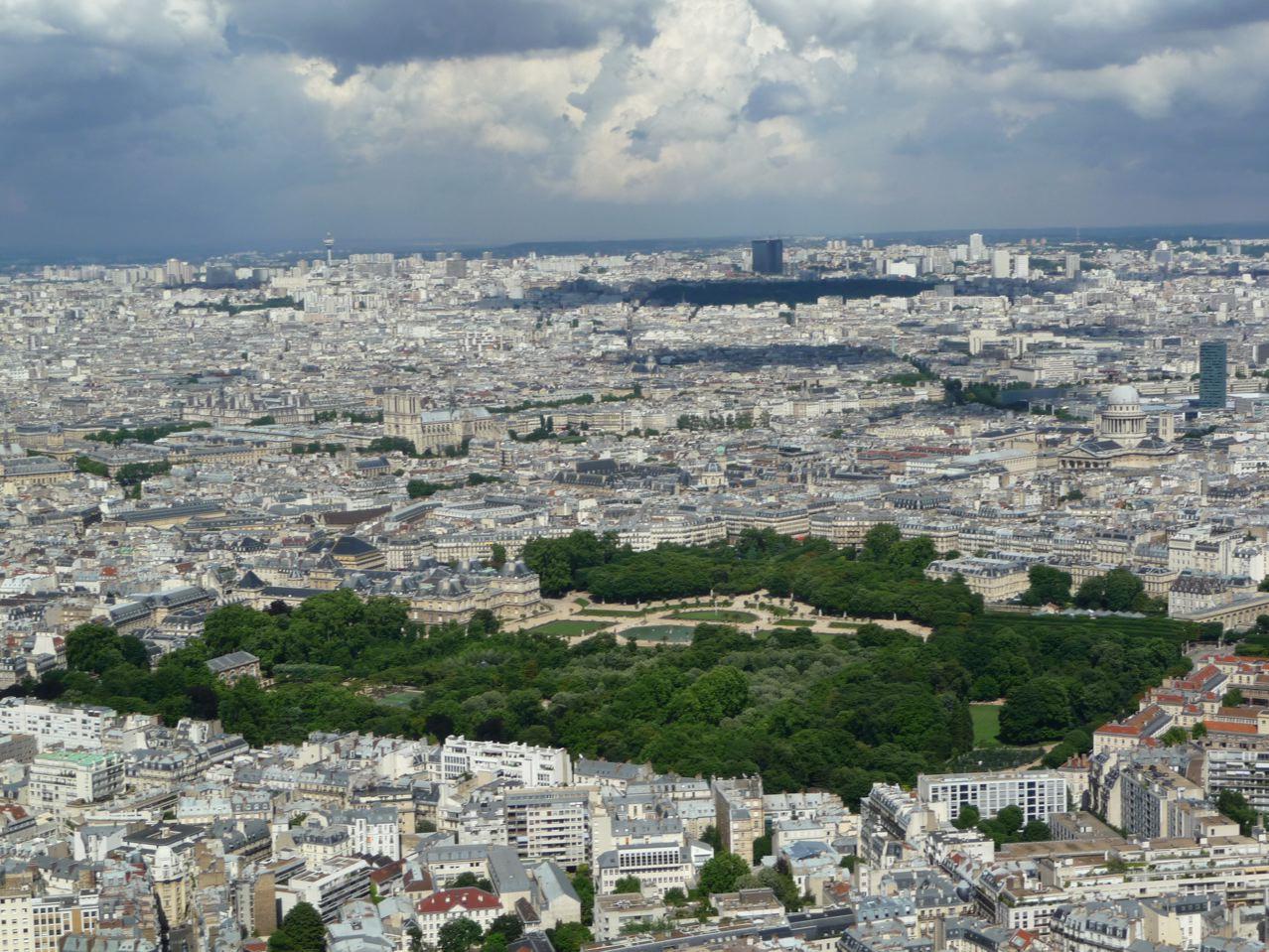 Décourverte de Paris sur la Tour Montparnasse (Paris 15e)