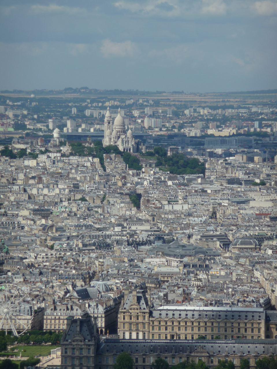 Vue panoramique sur Paris depuis la Tour Montparnasse